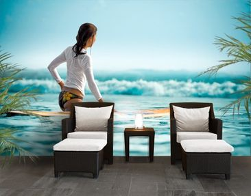 Produktfoto Photo Wall Mural Rider Of Waves