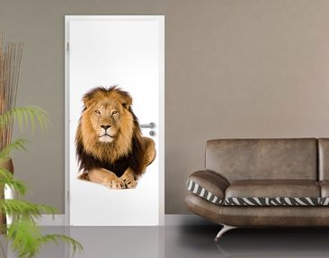 "Immagine del prodotto Carta da parati per porte no.45 ""THE LION KING"" 100x210cm"