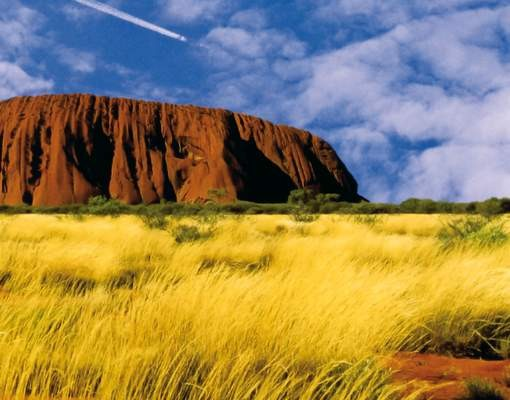 Produktfoto Selbstklebendes Wandbild Uluru Triptychon I