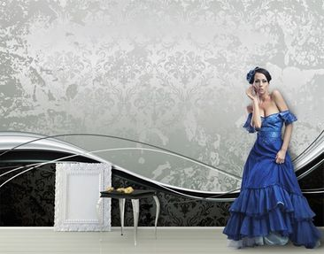 "Produktfoto Photo wall mural no.163 ""BAROQUE..."