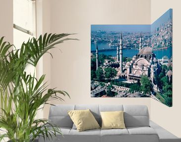 Product picture Corner Canvas Art Mosque Istanbul 2:1
