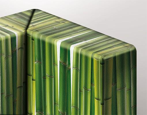 Produktfoto Eckleinwandbild Green Apple 1:1