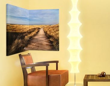 Product picture Corner Canvas Art Pathway Through The...