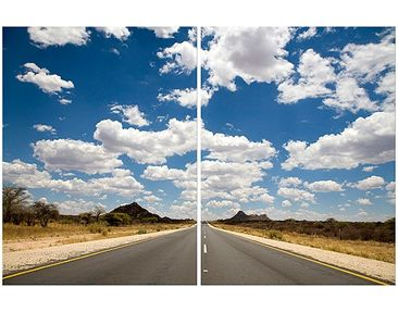 Product picture Corner Canvas Art Route 66 1:1