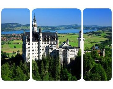 Product picture Wall Mural Neuschwanstein Castle...