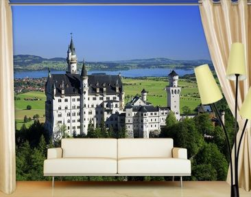 Product picture Photo Wall Mural Neuschwanstein Castle
