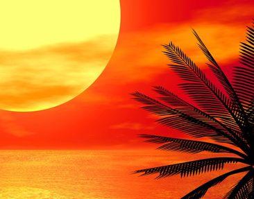 Product picture Corner Canvas Art Caribbean Sunset...