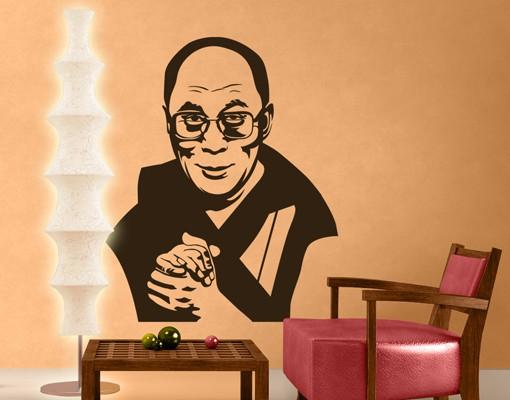 Wandtattoo No.1217 Dalai Lama