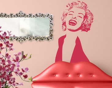 Product picture Wall Decal no.1220 Marilyn