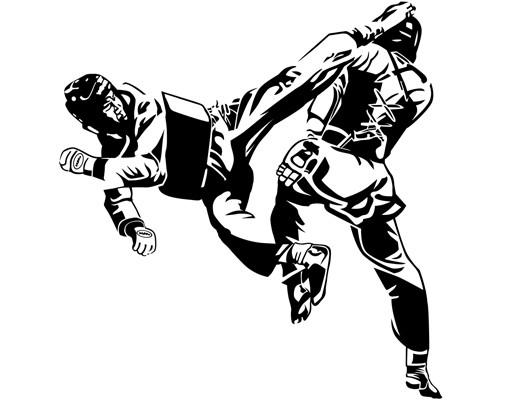 Produktfoto Wandtattoo No.1213 Taekwondo