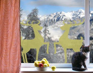 Produktfoto Window Sticker no.1222 Reindeer Couple