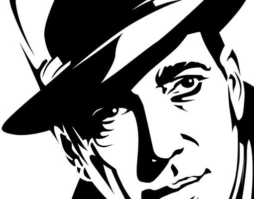 Produktfoto Wandtattoo No.1223 Mr Bogart