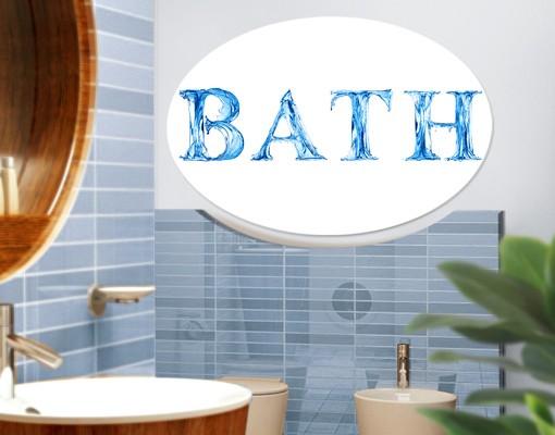 Produktfoto Leinwandbild Oval Bath III