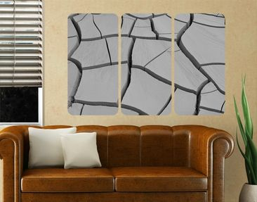 Produktfoto Wall Mural African Earth Triptych I