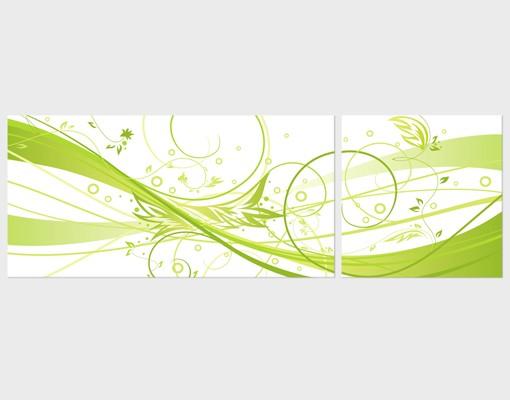 Produktfoto Eckleinwandbild March Panorama 2:1