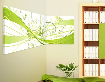 Product picture Corner Canvas Art March Panorama 2:1