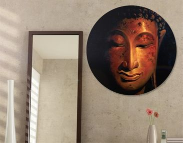 Produktfoto Canvas Art Circle Madras Buddha