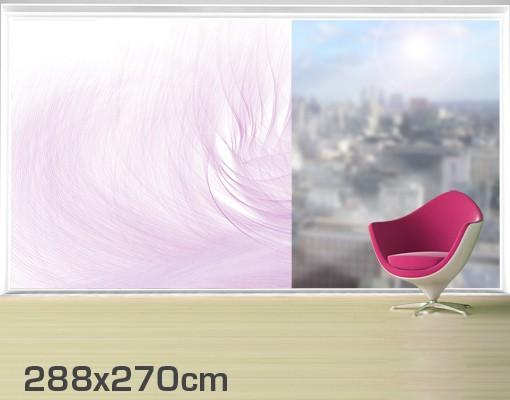 Produktfoto Fensterfolie - XXL Fensterbild No.RY7 Flügelschlag - Fenster Sichtschutz