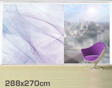 Product picture XXL Window Mural no.RY9 Doves Fly