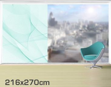 Product picture XXL Window Mural no.RY10 Ice Storm