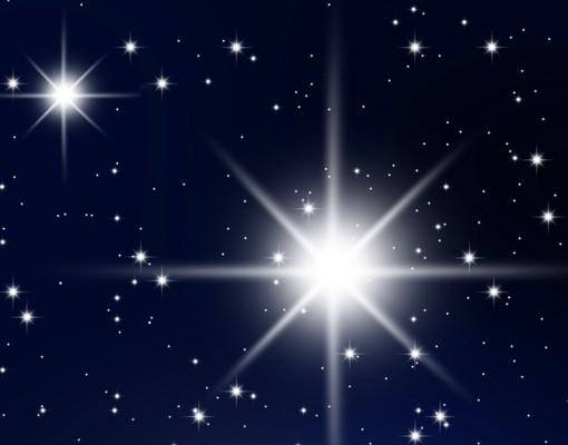 Produktfoto Eckleinwandbild Stars Panorama 2:1
