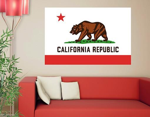 Produktfoto Wandtattoo Sprüche - Wandworte No.553 California