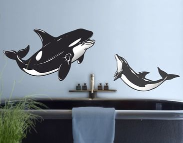 Produktfoto Wall Decal no.TA115 Marine Animals