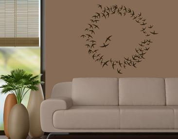 Produktfoto Wall Decal no.FB152 Flock Of Swallows