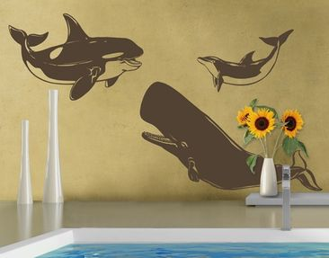 Produktfoto Wall Decal no.1239 Gentle Giants