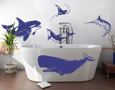 Produktfoto Wall Decal no.1242 Marine Creatures