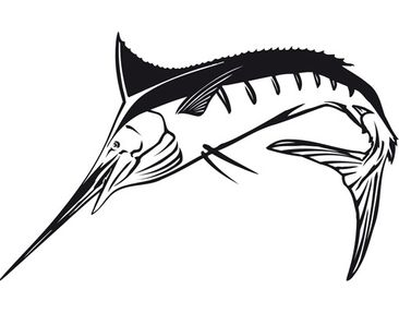 Product picture Wall Decal No.TA52 Swordfish