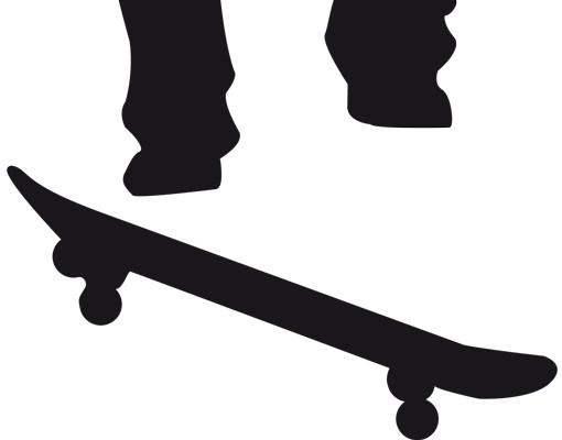 Produktfoto Wandtattoo Kinderzimmer No.JS31 Skater