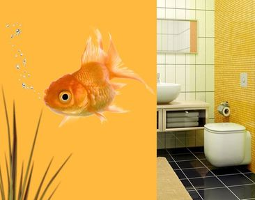 Produktfoto Wall Decal no.639 Golden Fishie