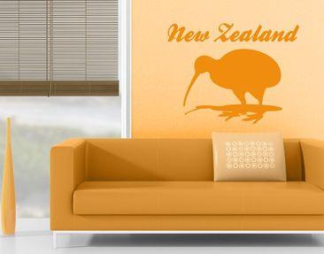 Produktfoto Wall Decal no.JS38 New Zealand Kiwi
