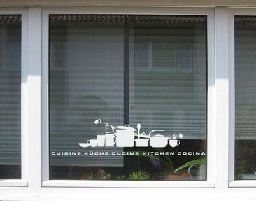 Immagine del prodotto Adesivo per finestre no.UL926 Skyline Of A Kitchen