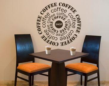 Produktfoto Wandtattoo Sprüche - Wandworte No.KA3 Coffeeshop
