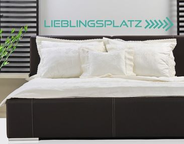 Produktfoto Wall Decal no.KA2 Lieblingsplatz