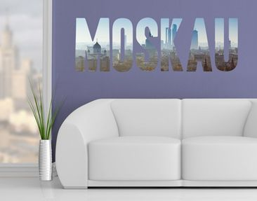 Product picture Wall Decal no.JS54 Moskau