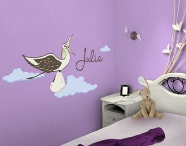 Produktfoto Wall Decal no.FB161 Your Own Words Stork