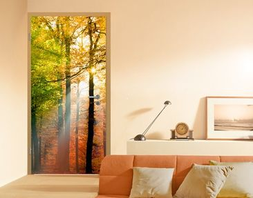 "Produktfoto Photo wall mural door no.54 ""FOREST..."