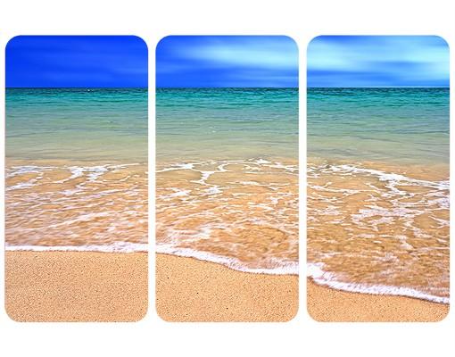 Produktfoto Selbstklebendes Wandbild Indian Ocean Triptychon I