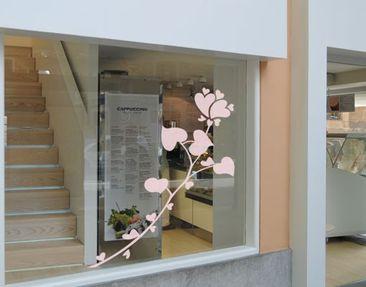 Immagine del prodotto Adesivo per finestre no.UL947 Rose Of Hearts