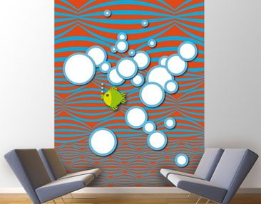 Product picture Photo Wall Mural no.UL953 Green Fish