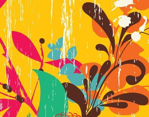 Produktfoto Fliesenbild Grunge Garden