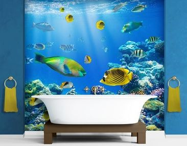 Produktfoto Photo Wall Mural Underwater Lights