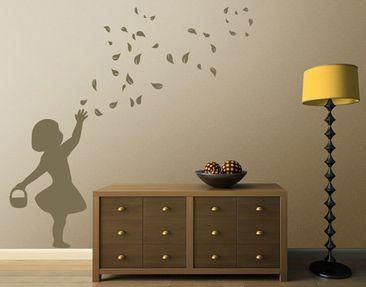Immagine del prodotto Adesivo murale no.CA24 Flower Girl