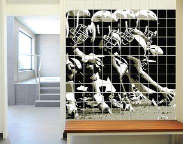 Produktfoto Tile Mural American Football