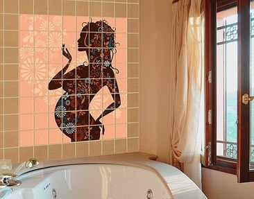 Product picture Tile Mural Field joy
