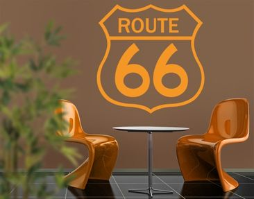 Produktfoto Wall Decal no.EK164 Route 66