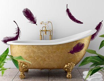 Immagine del prodotto Adesivo murale no.RY11 Five Feathers